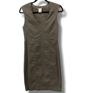 LINEN BLEND SARAH PACINI DRESS MADE IN ITALY S